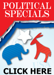 Click Here for Our Political Specials!